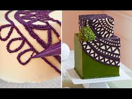 Cake Decorations At Home The Most Satisfying Video In The World Amazing Cake Decorating