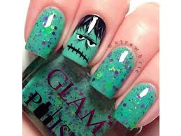 nail art design ideas for halloween geeky pinas