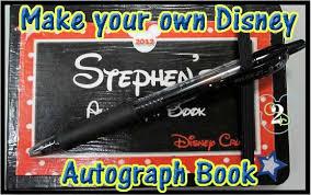 disney autograph book couponing to disney