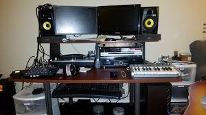 Music Studio Desk Workstation by Next Chapter 2011 U2013 Home Studio Darow U0027s Musical History Archive