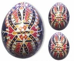 Decorated Easter Eggs Poland by