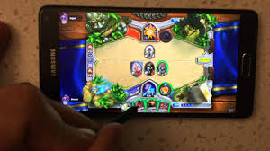 hearthstone android hearthstone on android phone samsung galaxy note 4 hack no