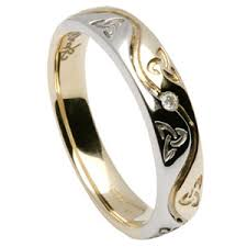 celtic wedding ring knot celtic wedding rings