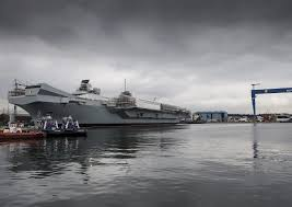Queen Elizabeth Ii Ship by Hms Queen Elizabeth Sea Trials Date Slips To Summer