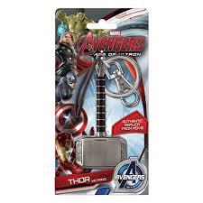 thor the dark world hammer pewter key chain monogram thor