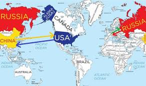 map russia to usa 19 maps that will help you put the united states in perspective