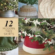 12 modern tree skirts design sponge