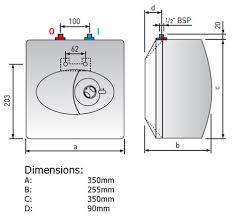 10 litre ariston europrisma ep10 2kw undersink electric water heater