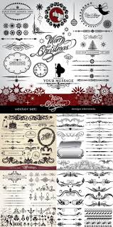 free christmas ornaments and design elements vector vector