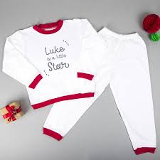 personalised childrens pyjamas by we are sc