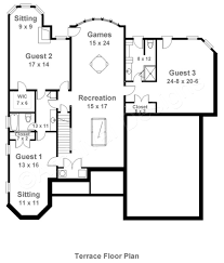 Floor Plan Elevations by Limerick Traditional Floor Plans Basement Floor Plans