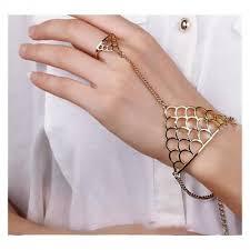 ring with chain bracelet images Buy enchantress finger ring hand chain bracelet online looksgud in jpg