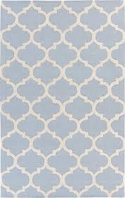 artistic weavers pollack stella light blue white rug