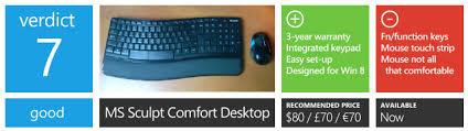 Ms Sculpt Comfort Desktop Review Microsoft Sculpt Comfort Desktop Neowin