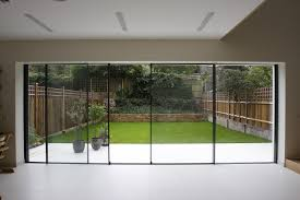 Frameless Patio Doors Sliding Patio Door Curtains Luxury External Frameless Glass