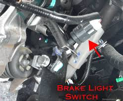 What Does It Mean When Your Brake Light Comes On Brake Light Switch Symptoms Problems Testing Replacement