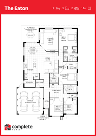 eaton floorplan complete homes 2017 house plans pinterest