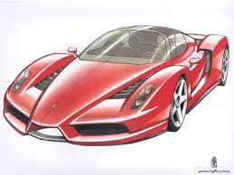 car ferrari drawing ferrari enzo 2002 pictures information u0026 specs