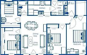 simple four bedroom house plans four bedroom house plans asio club