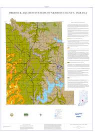 Indiana Counties Map Dnr Aquifer Systems Maps 05 A And 05 B Unconsolidated And
