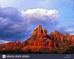 the camelhead u0026 snoopy rock formations at sunset sedona arizona