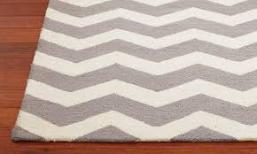 decor gray and white chevron area rug chevron rug ballard