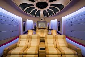 Home Theatre Interior by Modern Home Theater Interior Design With Best Theater Seating