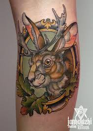 neo traditional rabbit tattoo google search tattoo pinterest