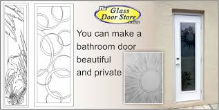 Frosted Glass Exterior Doors by Etched Glass Doors Frosted Glass Doors Tropical Glass Doors