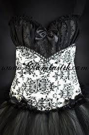 scarlett burlesque las vegas showgirl hand dyed tulle corset