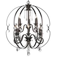 Jefferson 9 Light Chandelier Traditional - golden lighting u0027s ella 2 tier 9 light chandelier 1323 9 wg