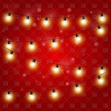 lights festive carnival garland with light bulbs royalty