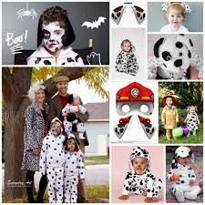 dalmatian diy spotted dalmatian style halloween diy costumes