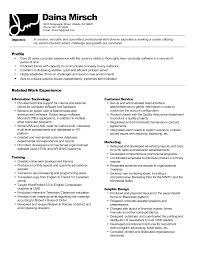 Ballet Resume Sample by My First Resume Template
