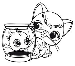 littlest pet shop free coloring pages kids coloring