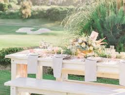 picnic table rentals picnic table rental san diego style weddings magazine rustic events