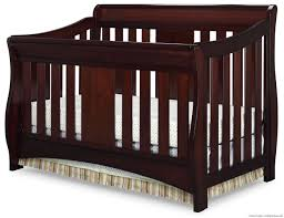 Canton 4 In 1 Convertible Crib Oberon 4 In 1 Crib Black Cherry Espresso By Delta Children Delta