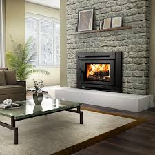 Wood Burning Fireplace by 31