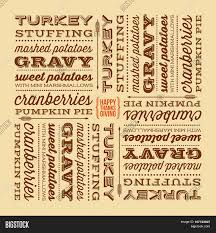 thanksgiving day typographic vector photo bigstock