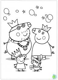curious george colouring pages 4 peppa pig free coloring pages