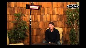 Sunpak Patio Heaters by Mojave Sun Infrared Patio Heater Youtube