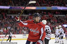 Ovechkin Meme - wilson ovechkin lead capitals past blackhawks 6 2 daily mail
