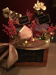 date night gift basket crafty pinterest gift basket ideas
