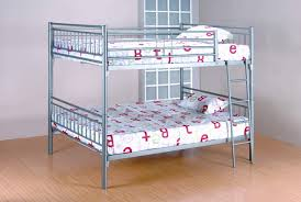 Metal Bunk Bed Frame Grey Metal Bunk Bed Bunk Beds
