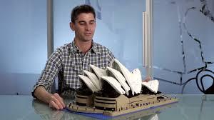 sydney opera house lego creator expert designer video youtube
