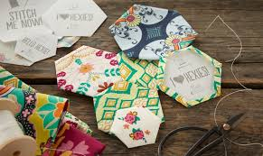 free hexagon templates to download for issue 9 love patchwork