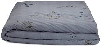 Amazon Futon Cover Amazon Com Calvin Klein Home Bamboo Flower Full Queen Duvet Cover