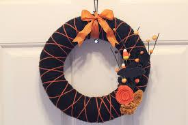 Halloween Wreath Decorations by Indoor Halloween Decorations