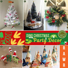 dinosaur christmas party ideas from decor to favors
