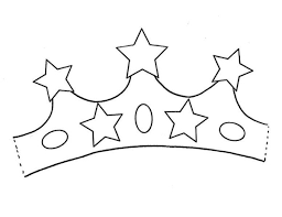 Princess Crown With Five Stars Of Gold Coloring Page Netart Princess Crown Coloring Page Free Coloring Sheets